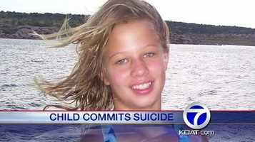 VIDEO: 11 Year old commits suicide |Jennifer Hodge said she missed the warning signs that her 11-year-old daughter would commit suicide. Now, she is urging other parents to talk to their children.