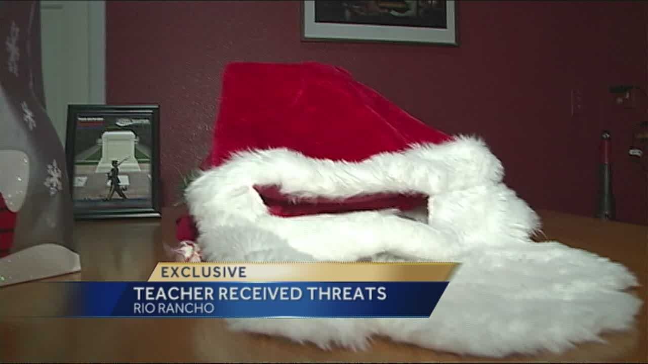 Superintendent: Teacher behind black Santa controversy has received threats