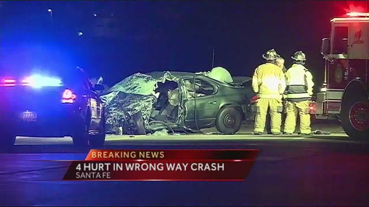 BREAKING: Santa Fe Accident