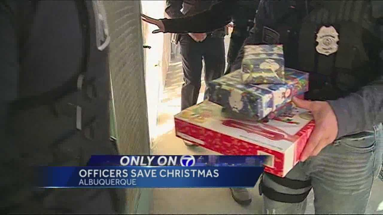 A little girl's Christmas dreams were ruined by thieves.