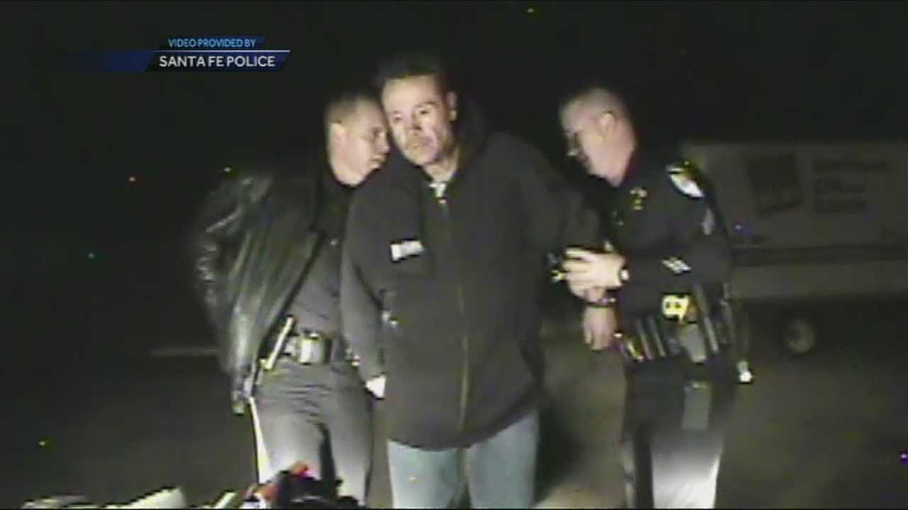 A convicted repeat drunk driver busted again.