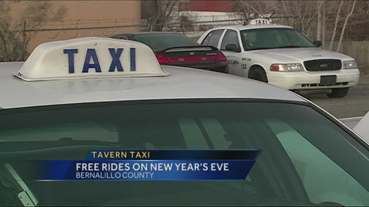 If you're drinking New Year's Eve there's a way to get a free ride home, paid for by the county.