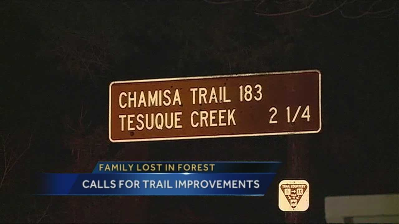 Mom calls for new forest signage after costly wrong turn