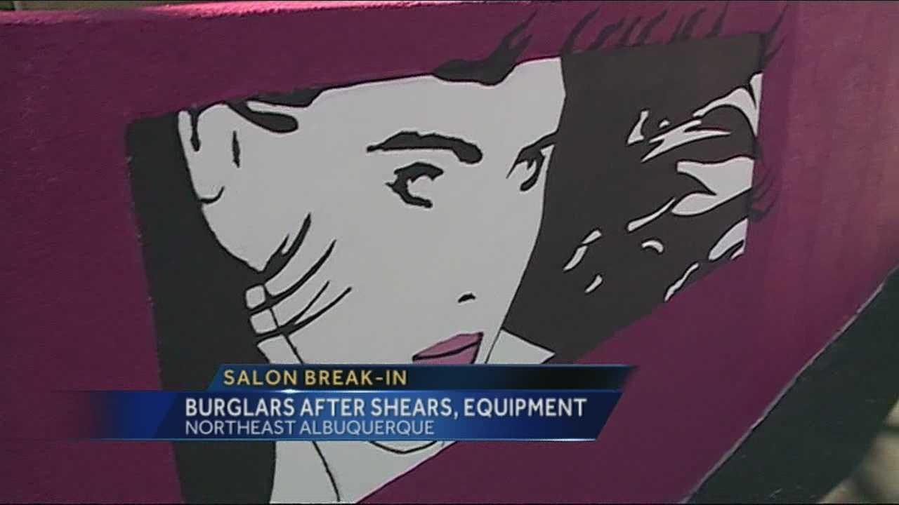 Yet another Albuquerque salon burglarized