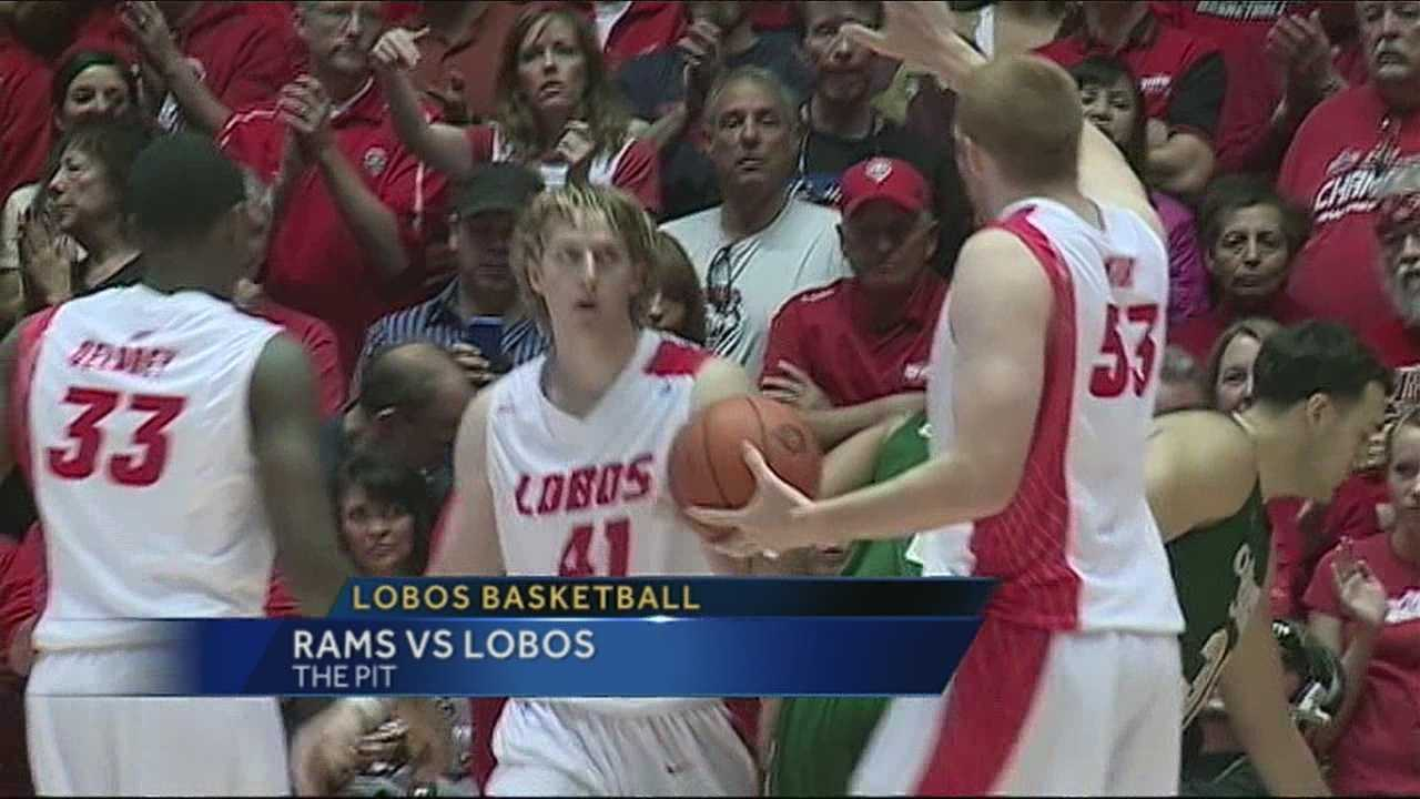 The UNM men's basketball team opened Mountain West Conference play with a target on their backs.
