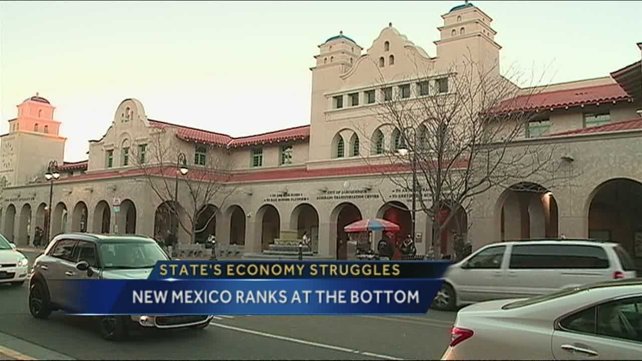 A new  study is gaining traction in the national media, and it's not painting a glowing picture of New Mexico, specifically our economy.