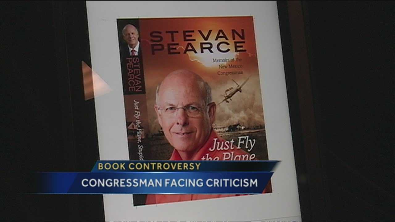 Steve Pearce Book Controversy