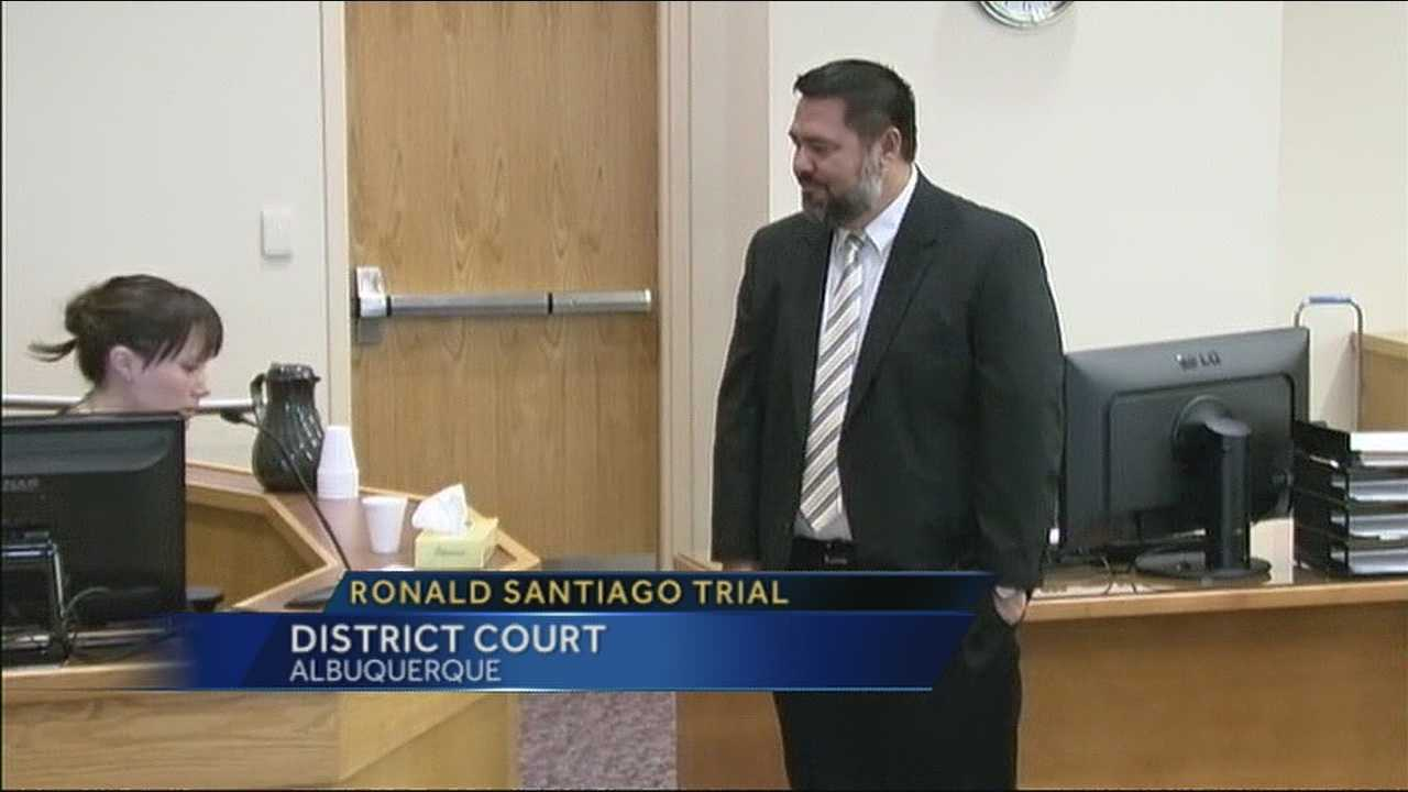 Couple's daughter the focus during Ronald Santiago trial's first week