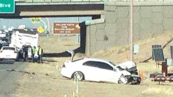 Crash at Paseo