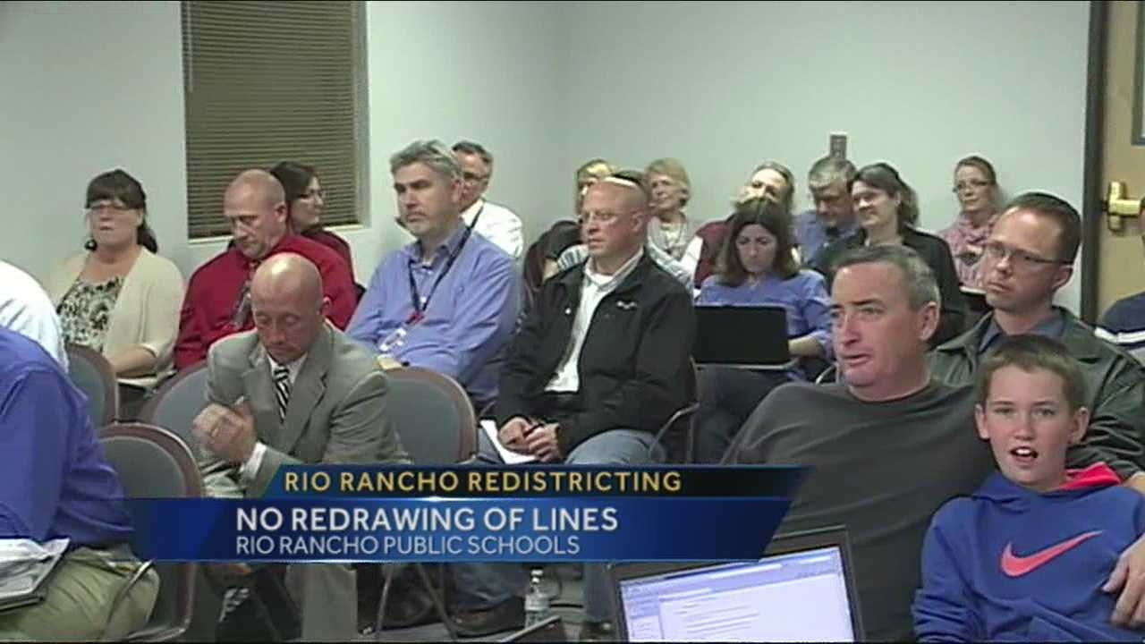 Rio Rancho nixes redistricting plan