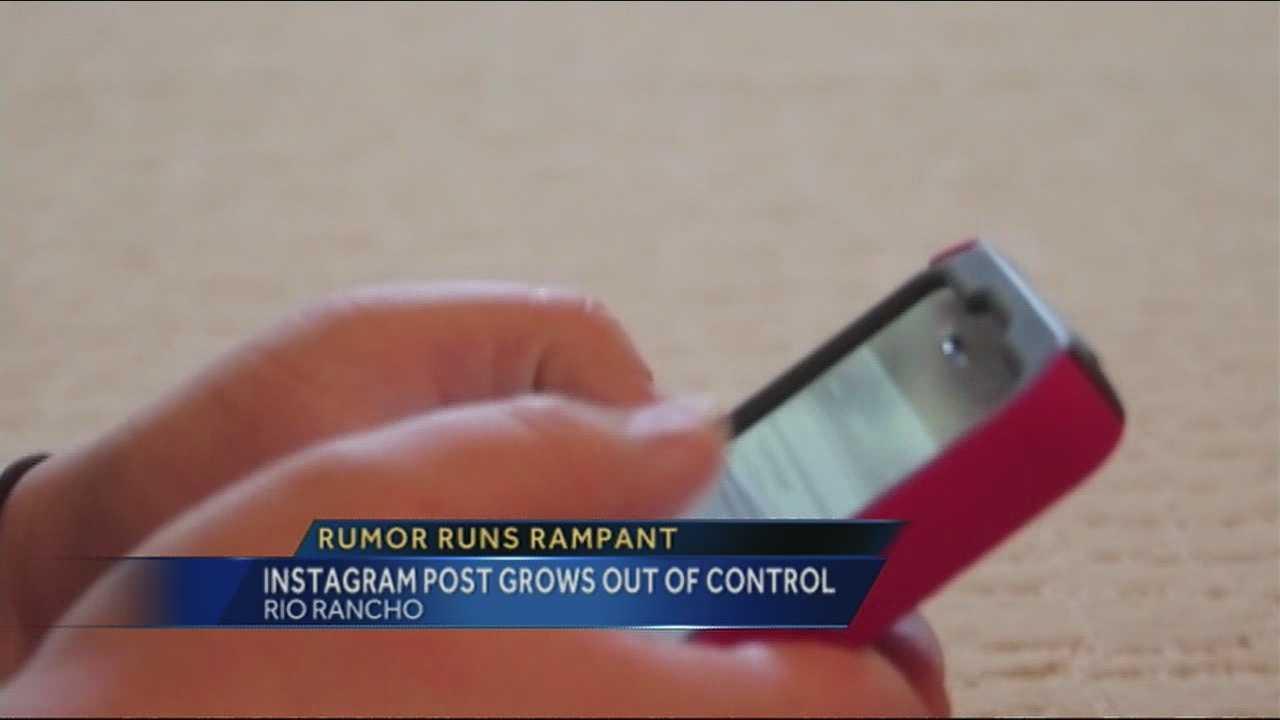 Instagram post prompts scare in Rio Rancho