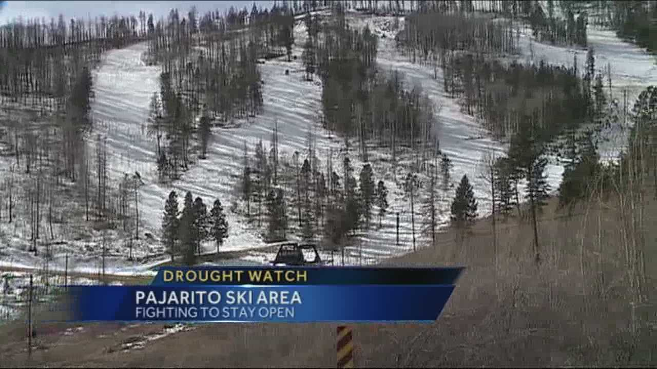 Drought conditions have made business difficult for New Mexico ski resorts.
