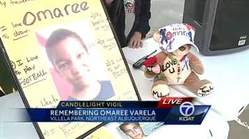 Jan. 11, 2014: Candlelight vigil held in memory of Omaree. The vigil was held on a basketball court, one of Omaree's favorite places.