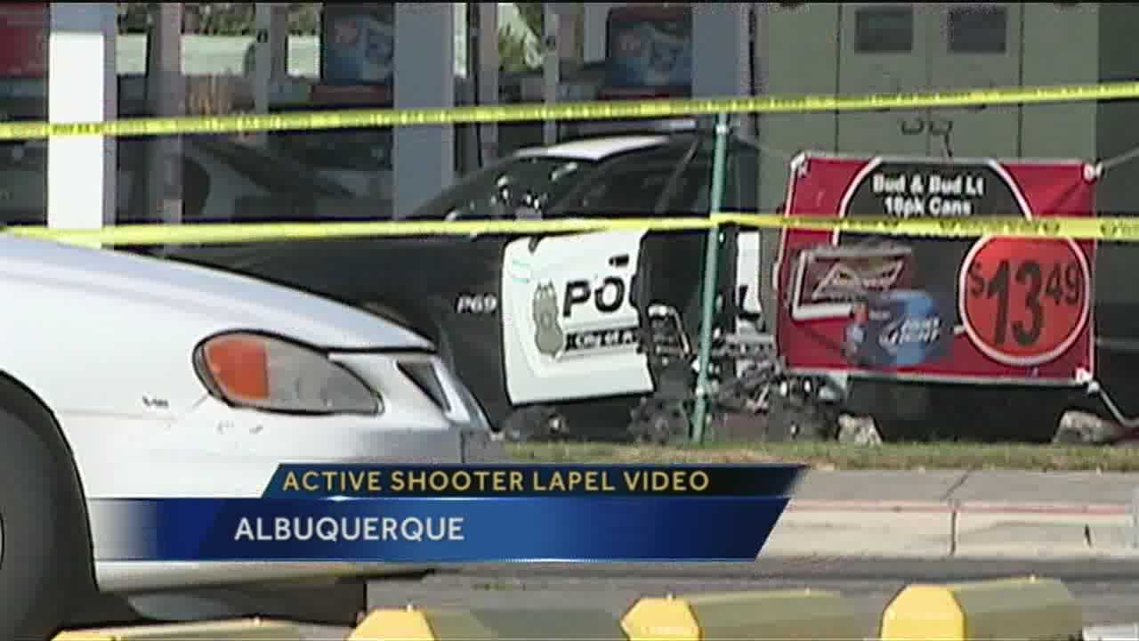 Video of a shooter driving through Albuquerque firing at police officers may be soon used as an education tool for law enforcement agencies.