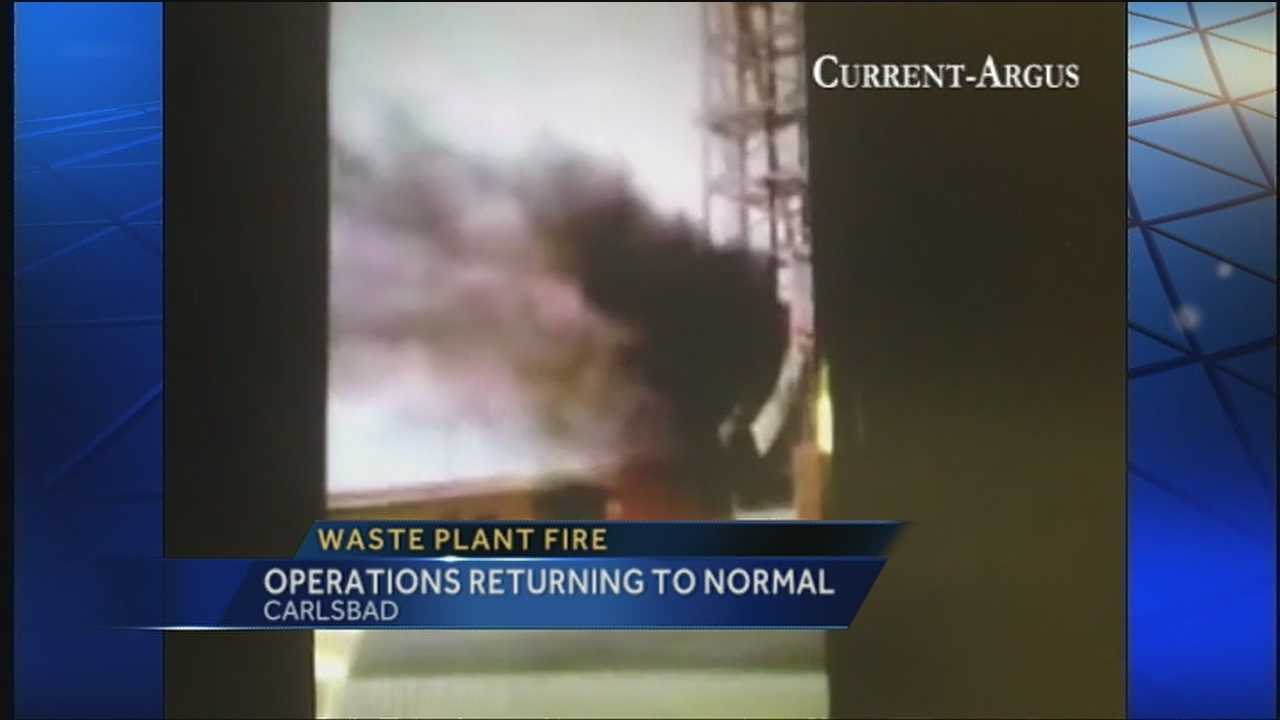 Cause of WIPP fire under investigation