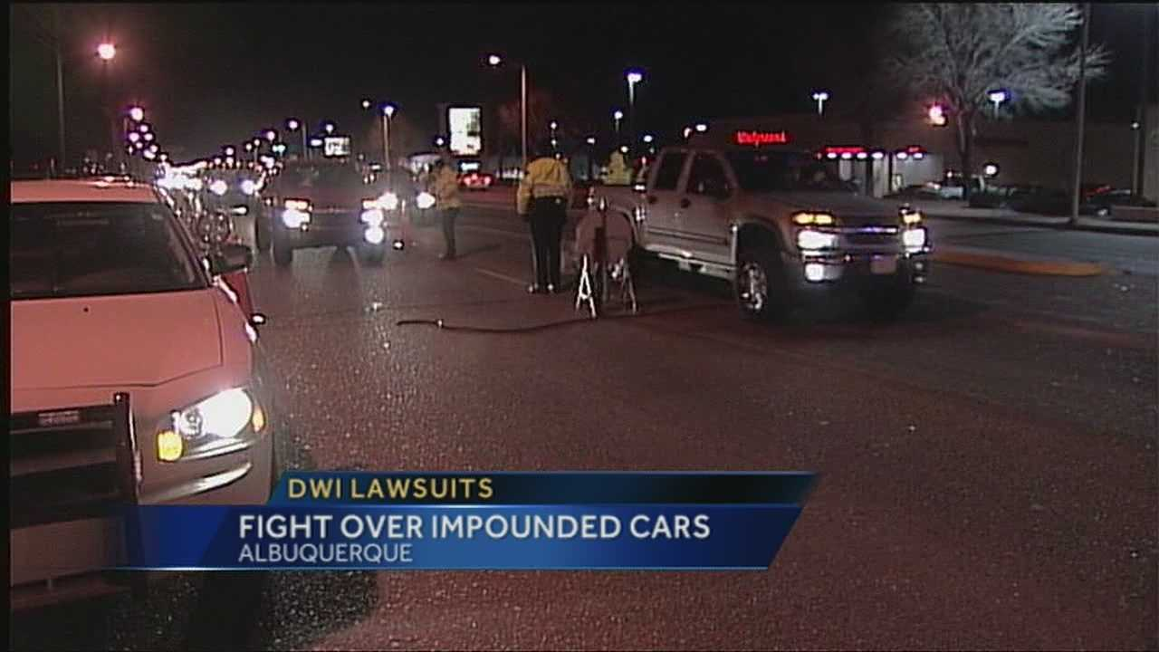A judge ruled, the city's DWI car seizure program is unconstitutional.