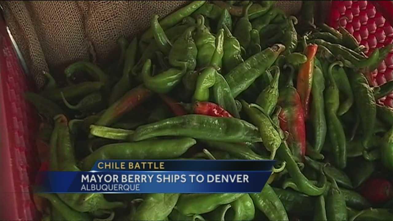 Mayor Packs up Chile