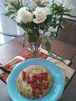 14.Make a meal with symbols of love. Examples: Write I love you with string beans, make a tart in the shape of a heart …