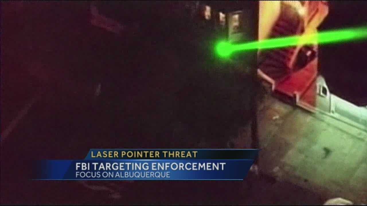 The threat of laser pointers to an aircraft is very real, and the blinding distractions are at an alarming rate.