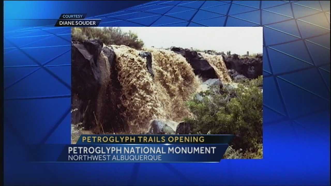 Petroglyph monument trail head reopened