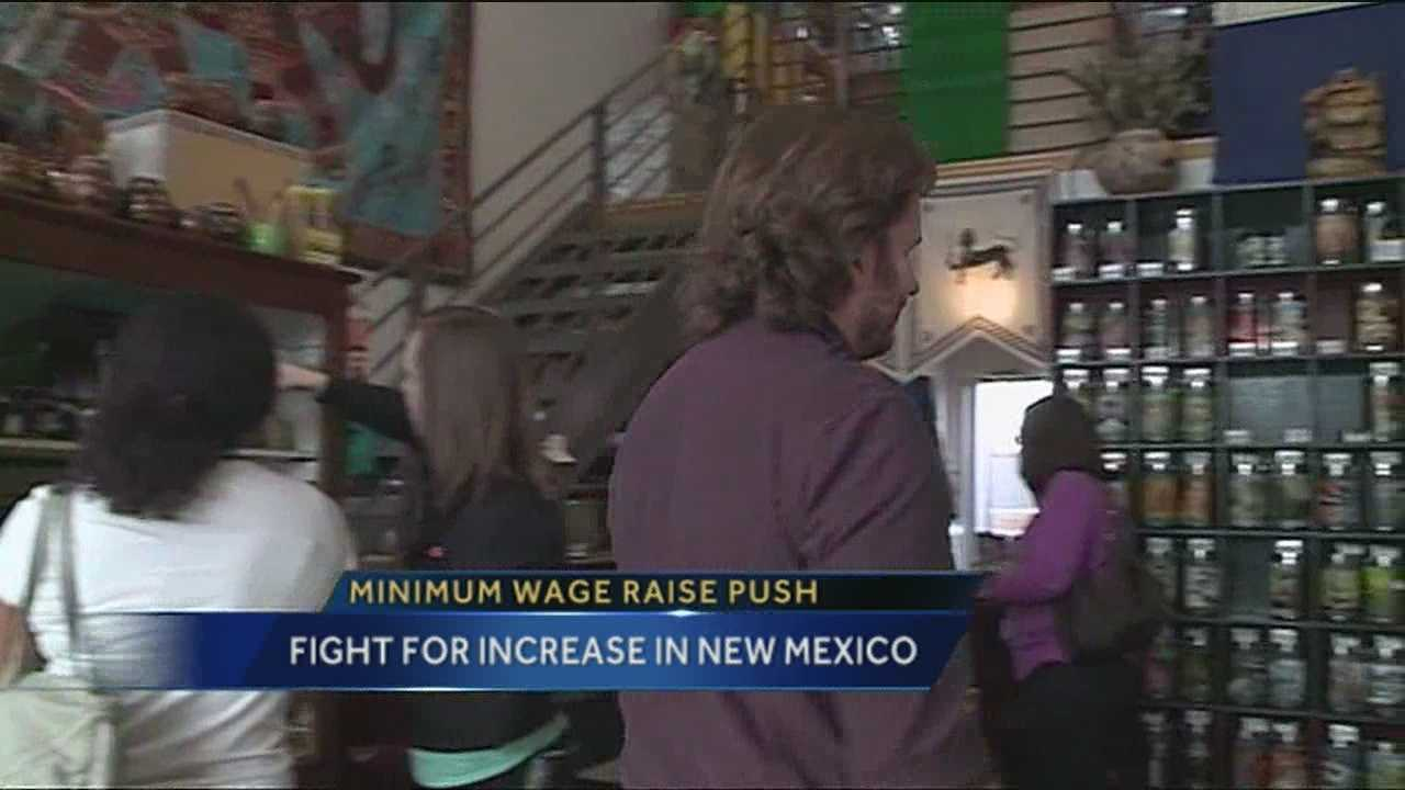 New Mexico Minimum Wage Push