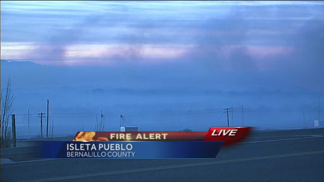 Action 7 News More in the Morning has the latest from the Isleta blaze