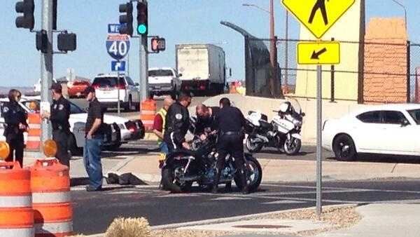 Motorcycle Crash Feb. 18 2014
