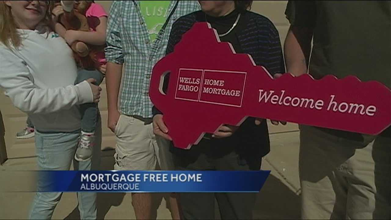 Purple Heart recipient gets new home in Albuquerque