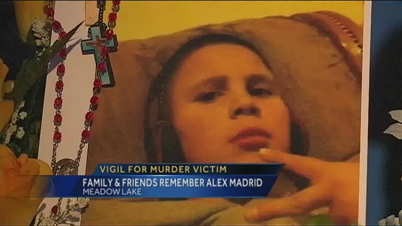 Vigil for Alex Madrid