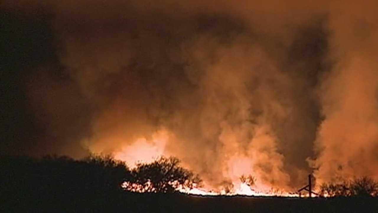 West Lagoon fire