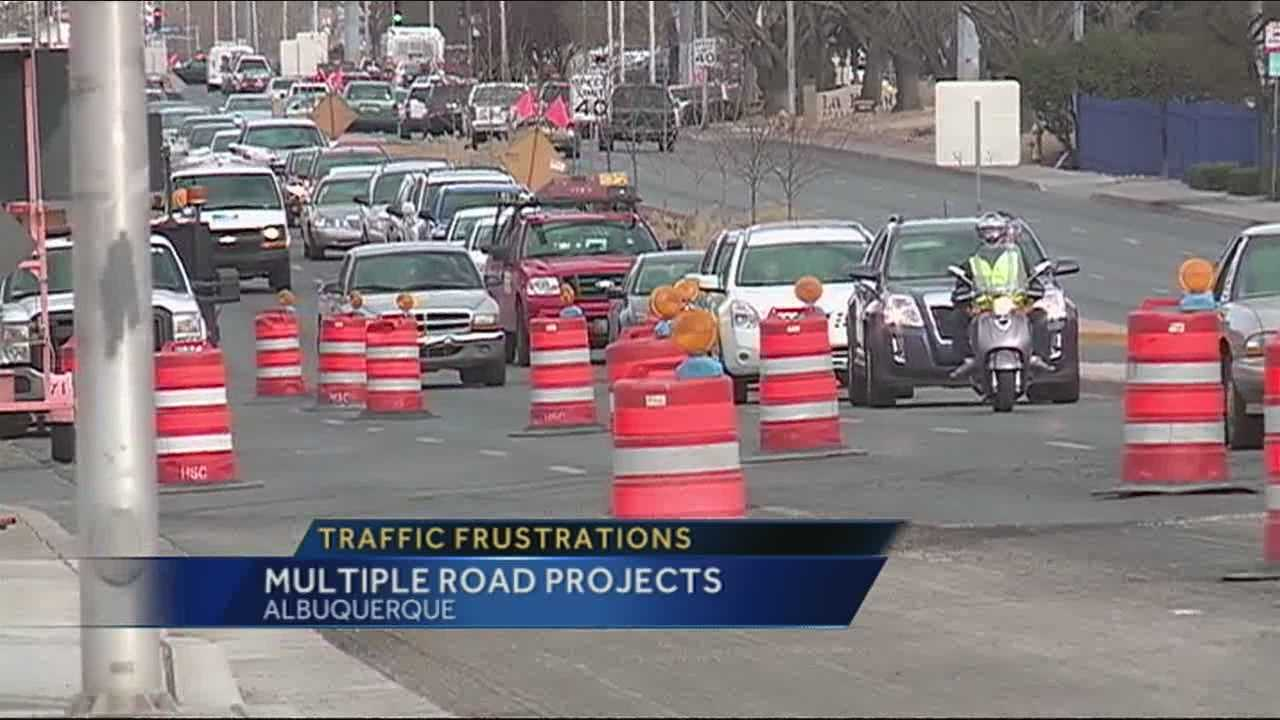 Frustration stems from Montgomery Blvd. construction