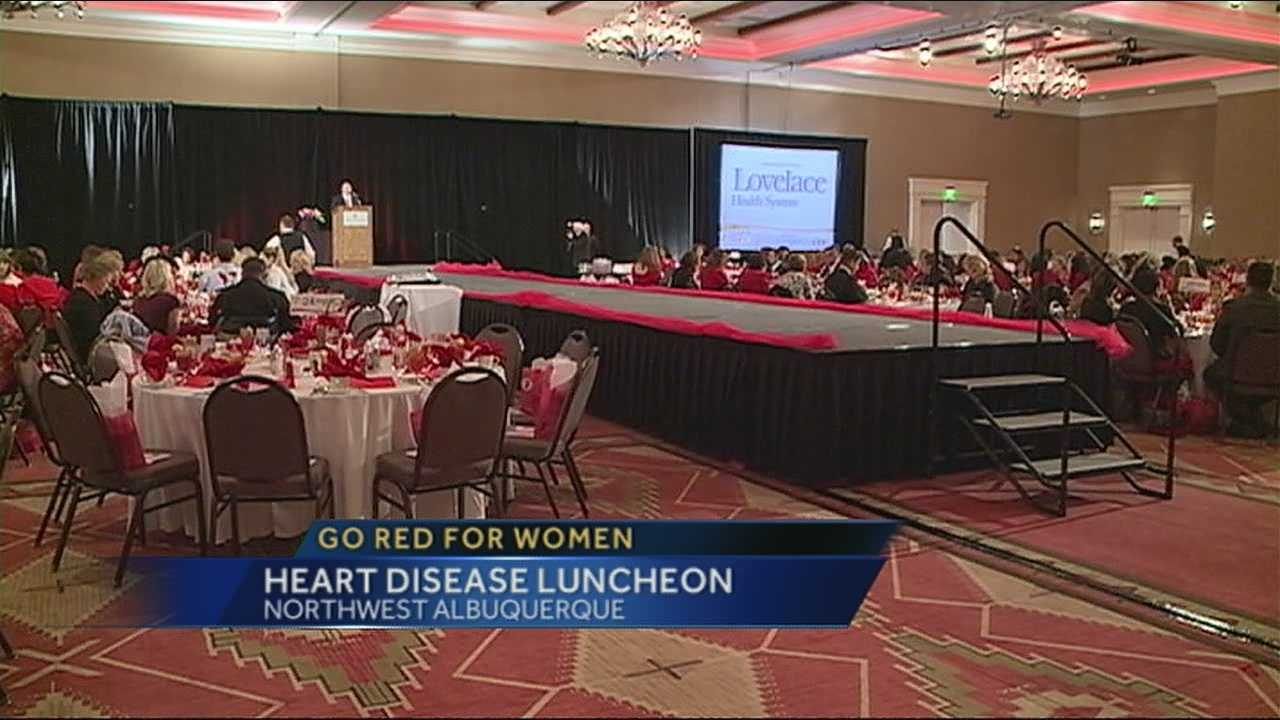 Woman coming together to fight heart disease -- that's the purpose of Go Red for Women.