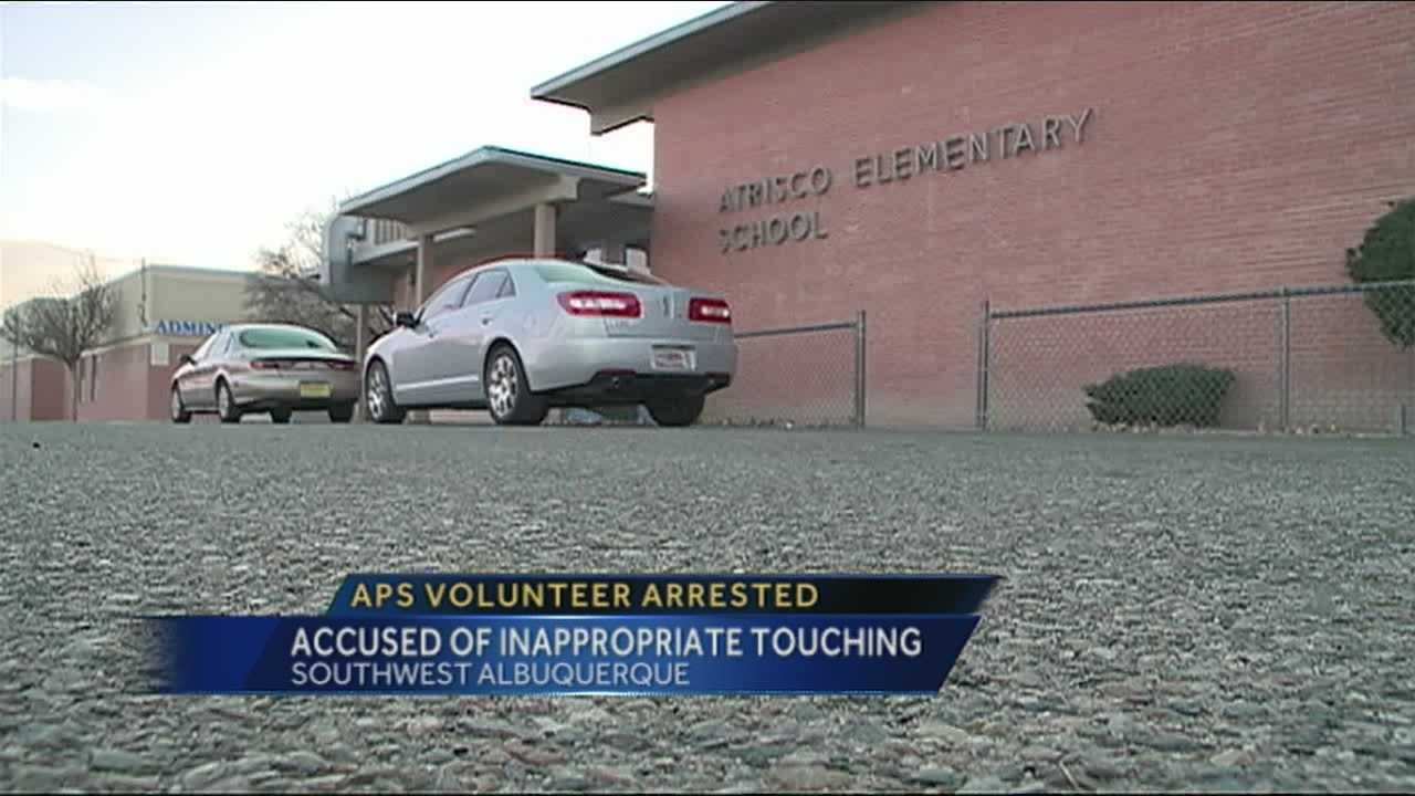 A man trusted as a volunteer kindergarten tutor is now accused of inappropriately touching a student.