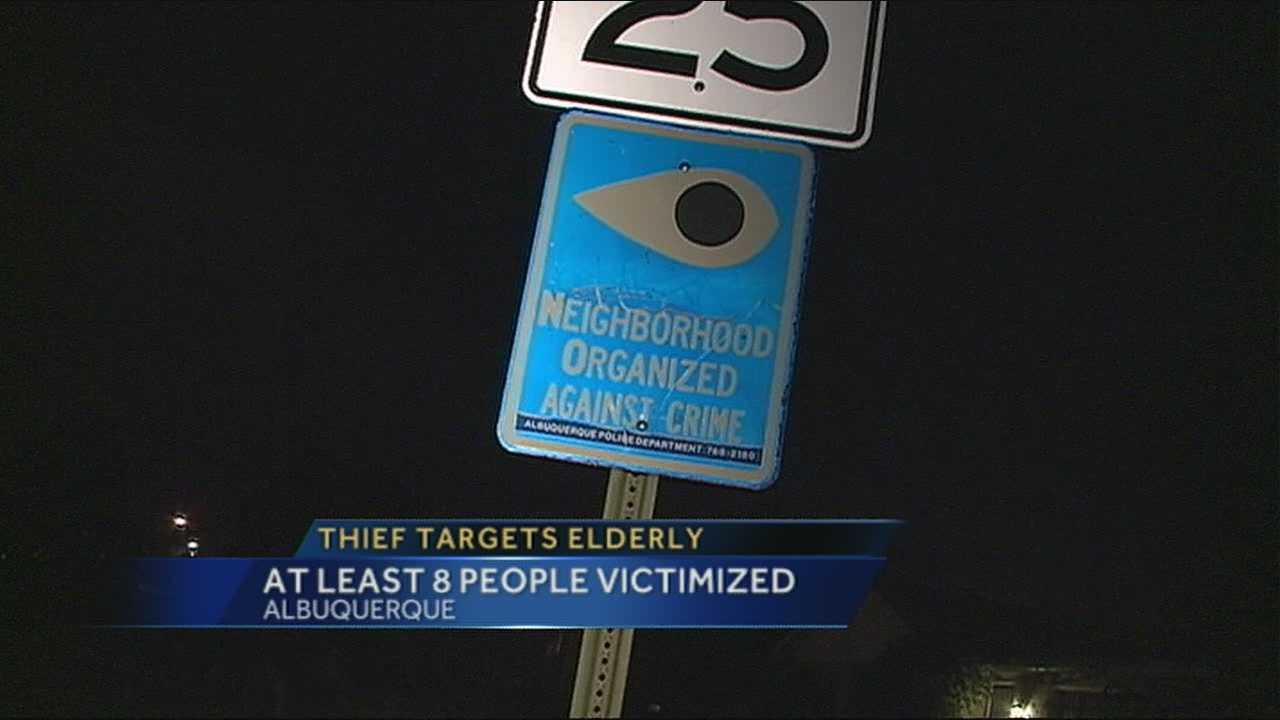 Door-to-door scam targets elderly