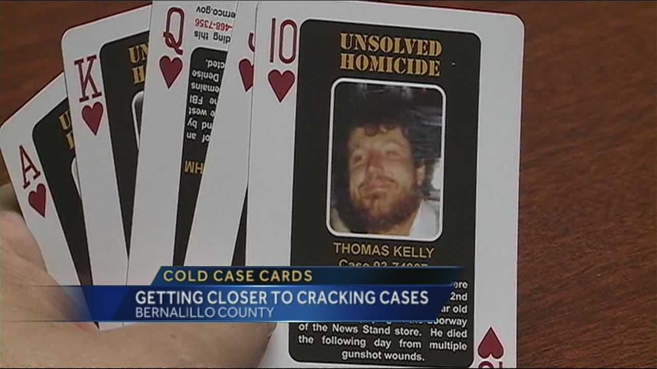 Bernalillo County is getting closer to cracking unsolved murder cases thanks in part to a deck of cards.