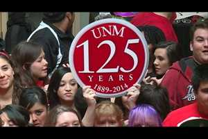 UNM turned 125 years old Friday.