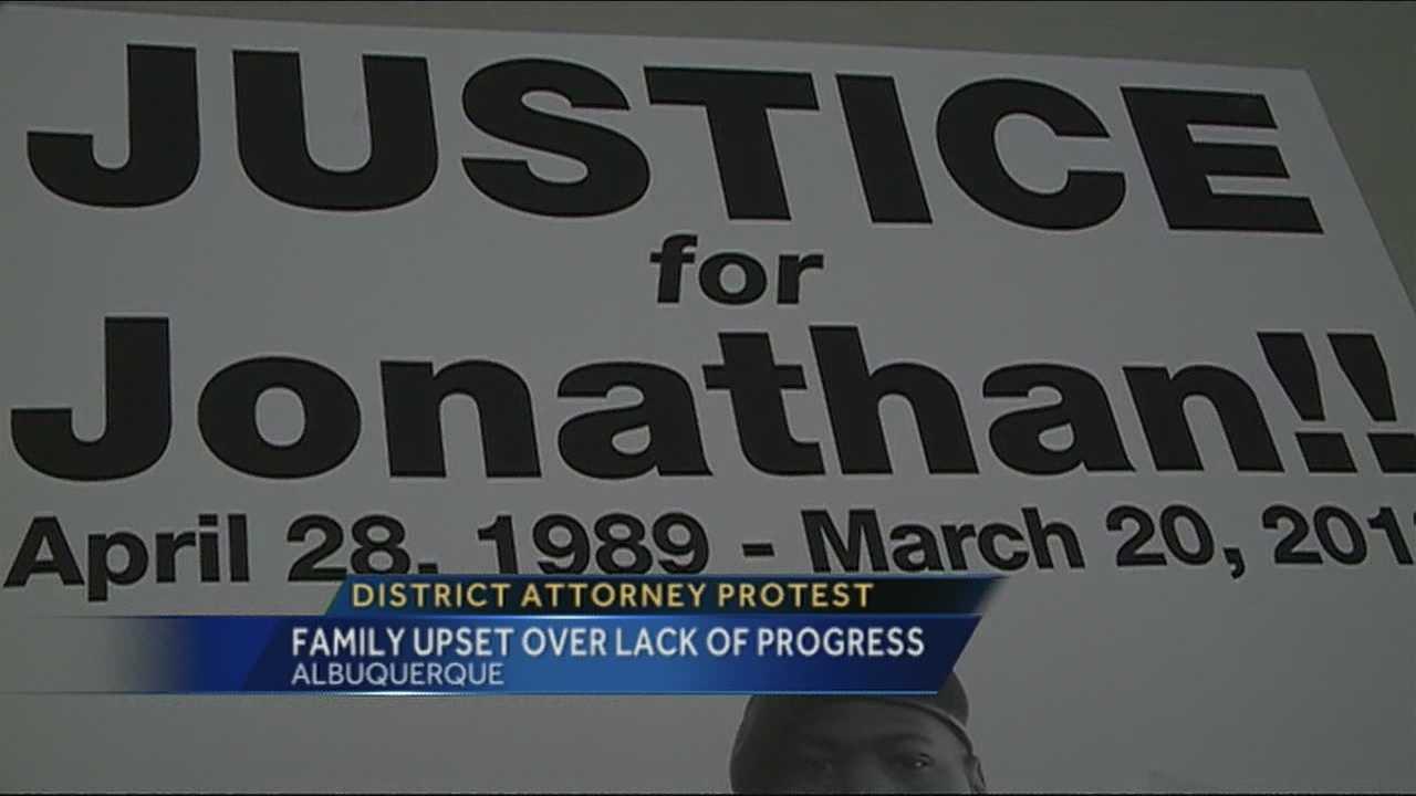 Protest to be held outside Bernalillo Co. DA's office