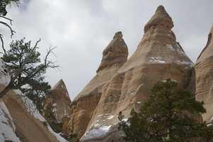 1. Tent Rocks Canyon, Cochiti Pueblo