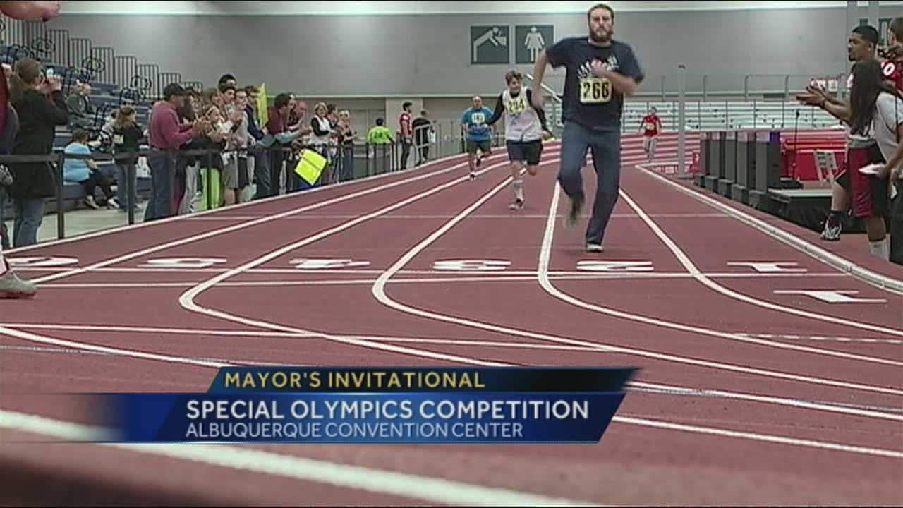 Athletes gather for Special Olympics Mayor's Invitational