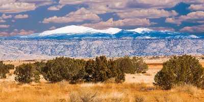 Mt. TaylorSnow capped Mt. Taylor.
