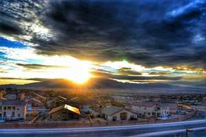 Burque SunriseTaken from the Lowes Home Improvement in Rio Rancho.