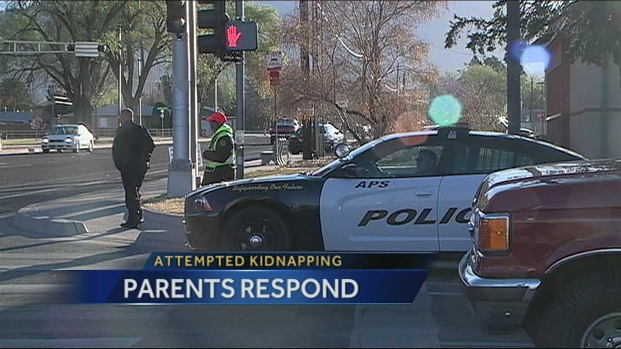 Parents react to alleged stranger incident at Inez Elem.