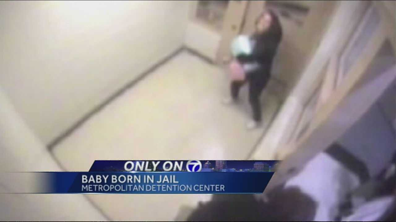 A baby born inside a jail cell at the Metropolitan Detention Center.