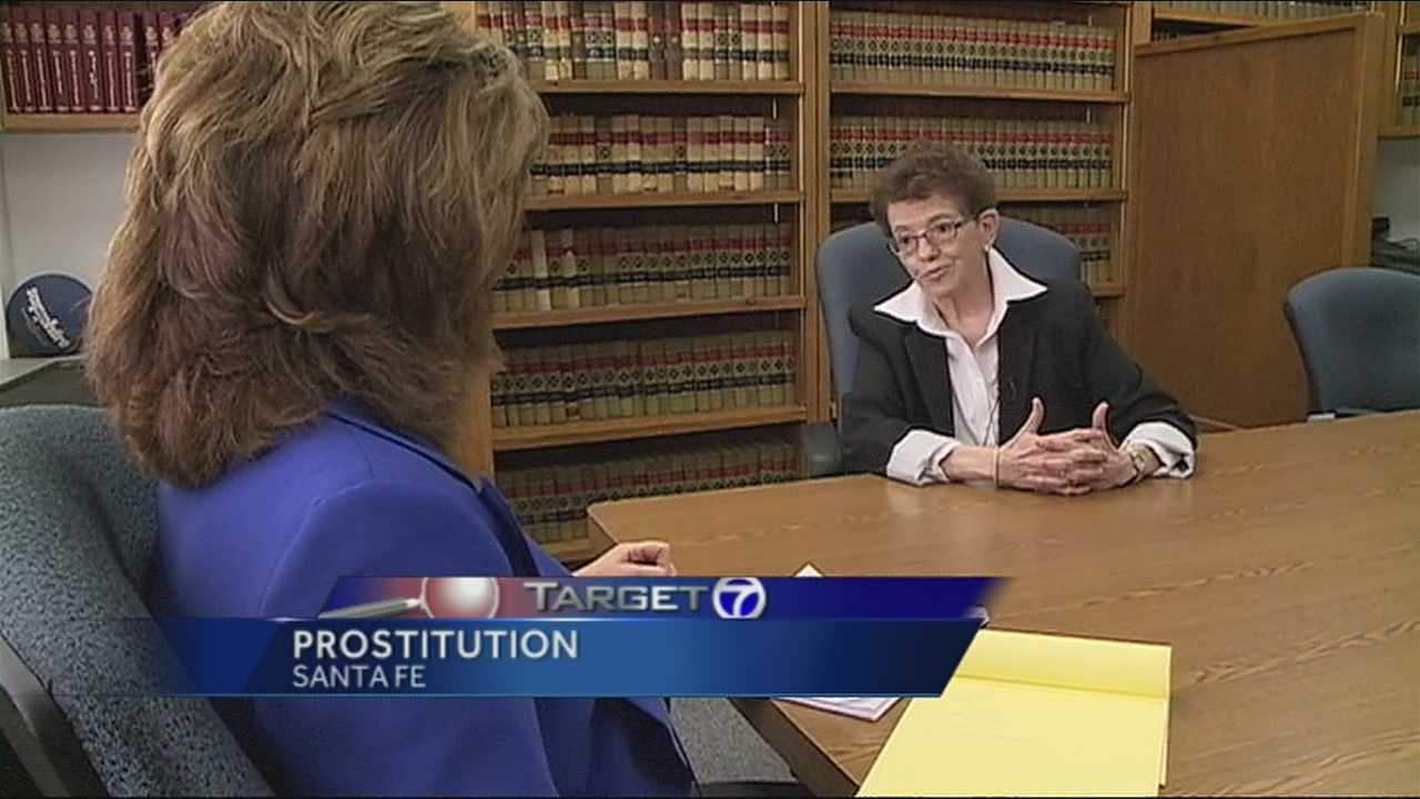 This week, the Santa Fe District Attorney said there's virtually no prostitution in Santa Fe.