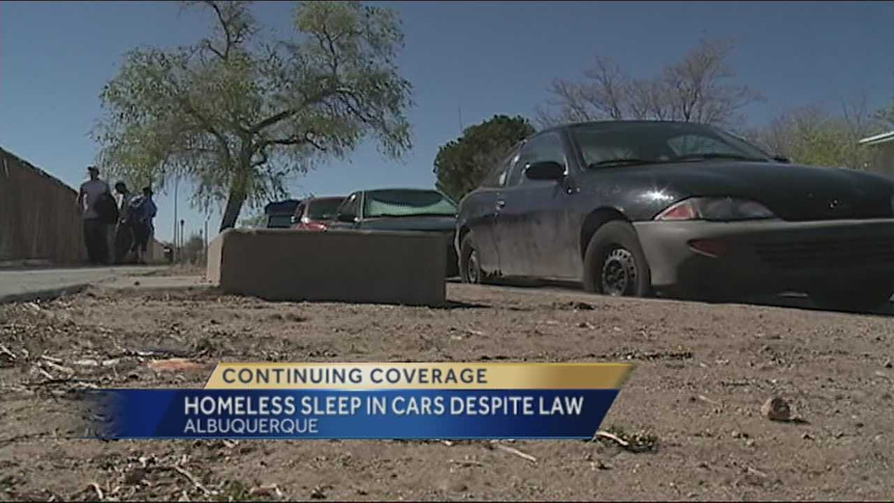 It is illegal in Albuquerque to live out of your car, so why are some many people getting away with it.