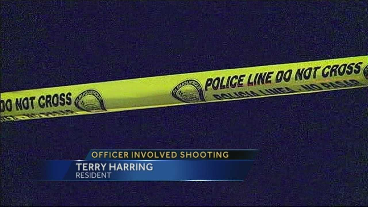 A man was shot Sunday during a confrontation with Albuquerque police officers.