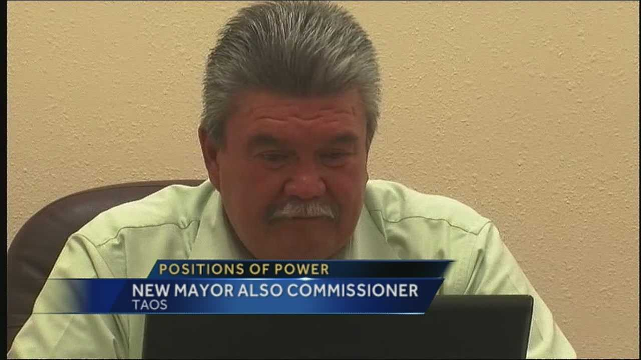 Taos mayor also a county commissioner