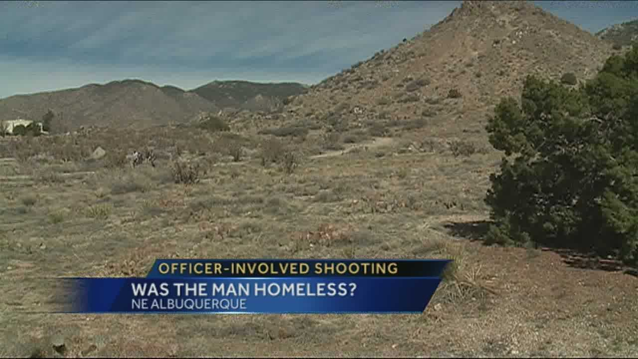 While police continue their investigation, people in the community are asking why the man was in the Foothills in the first place.