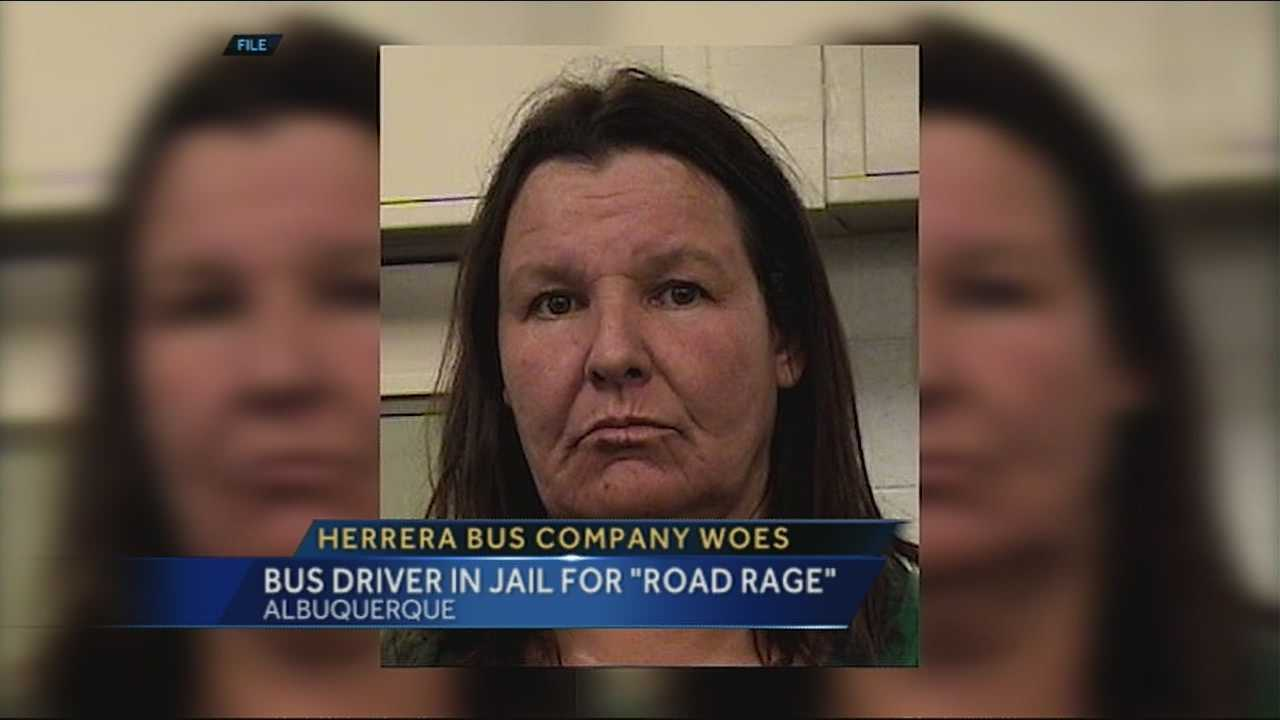 Bernalillo county sheriffs deputies arrest a school bus driver after a road rage incident.