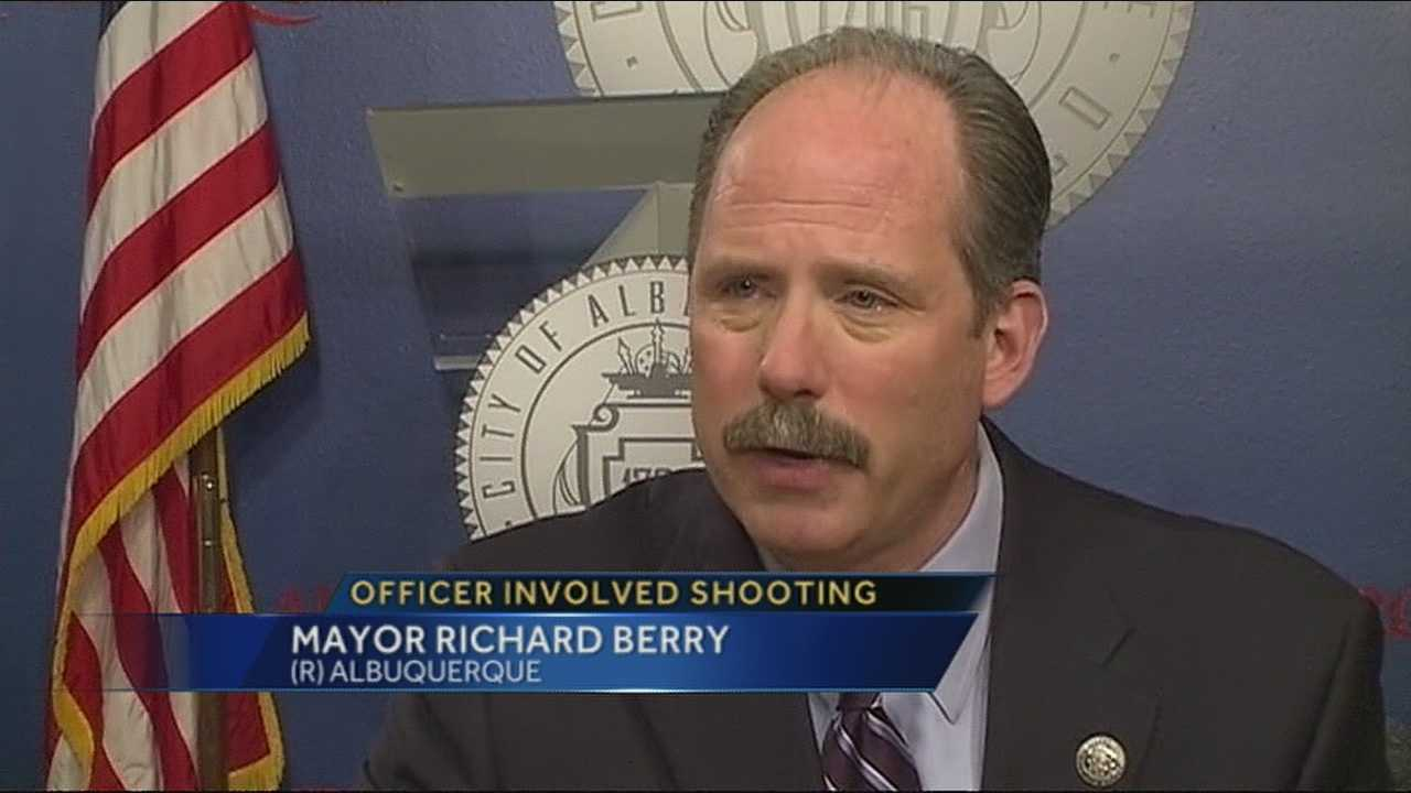 Mayor Berry sounds off on foothills shooting
